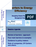 Barriers to EE - Presentation