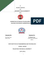 Ravi -Final Project Report