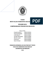 KESGILUT - Resume Buku Comprehensive Preventive Dentistry
