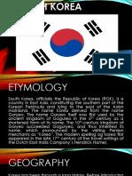 South Korea Dowen