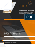 Profit Analysis