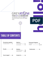 GreyAtom Data Science Machine Learning Course