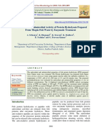 Antioxidant and Antimicrobial Activity of Protein