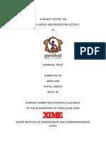 A PROJECT REPORT ON SAMBHALI TRUST.docx