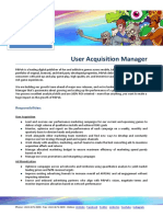 User Acquisition Manager Hm