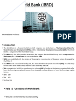 World Bank (Ibrd) Ppt