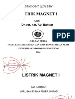 Handout Listrik Magnet i