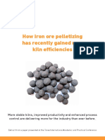 How Iron Ore Pelletizing Has Recently Gained New Kiln Efficiencies 1