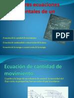 Presentación de Ecuaciones de Flujo de Fluidos