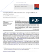Parental involvement and adolescents' career goal pursuit during the post-school transition.pdf