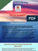B.com(C.A) V sem Anshul Prakash tax CCE.pptx