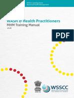 MHM Training Manual WSSCC