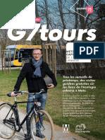 G7 tours sur les lieux de l'écologie urbaine à Metz