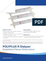 Polyflux R Dialyzers Spec Sheet