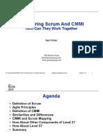 Comparing Scrum And CMMI.pdf