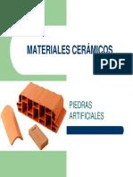 Materiales Cerámicos Piedras Artificiales