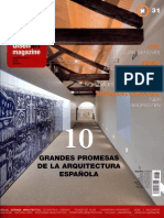 08 | DISEÑART Magazine | 10 grandes promesas de la arquitectura española | 31 | Spain | Ecoboulevard, Vivienda de acero y madera Ranón