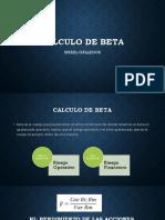 Calculo de Beta 2