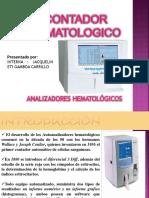 Presentacion Del Contador Hematologico