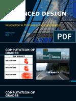 Advanced Design - Introduction