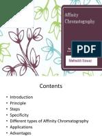 Affinity Chromatography Converted