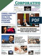 Jornal Corporativo número 3078 de 27 de março de 2019