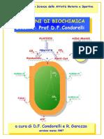 Biochimica - Scienze motorie