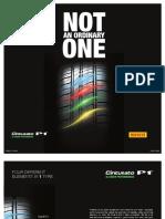 Pirelli Tyre Cinturato Catalogue