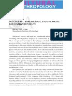 james_BureaucraftWitchcraft, sorcery, rumors and gossip - Stewart y Strathern.pdf