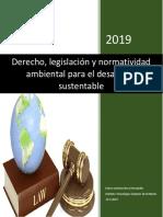 Derecho,Legislacion y Normatividad Ambiental