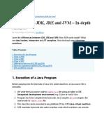 JDK JRE JVM.docx