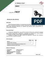 Catalogo Bomba FB Serie BOT 32-160