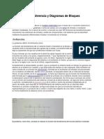 Función de Transferencia y Diagramas de Bloques