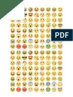 Emojis emoções