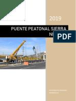 Especificaciones Tecnicas Puente Peatonal Final