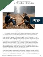 Sobre La Libertad (v)_ Rastreo Etimológico - DiarioRC