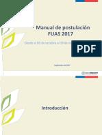 Manual Postulaciones 2017