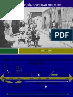cronologia de la sociedad inicio siglo 20