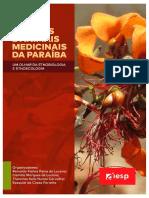 Plantas e Animais Medicinais Da Paraíba - Visões Da Etnobiologia e Etnoecologia