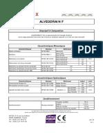 Alveodrain f