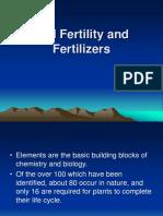 Soil Fertility and Fertilizers