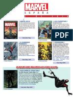 Catálogo ABRIL 2019 Marvel