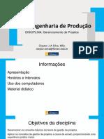 Conceitos básicos de gerenciamento de projetos