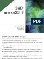 B9_SG Cowen New Recruits