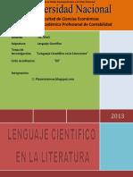 LENGUAJE CIENTÍFICO DE LA LITERATURA.docx
