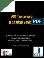 IRM Et Plasticite Cerebrale
