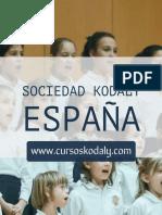 Método Kodály en España