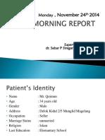Morning Report 24 november 2014.pptx