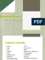 Morning Report 25 November