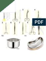 Dressing Set Instruments